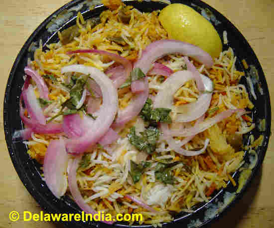 Where to Eat Dum Biryani in Delaware