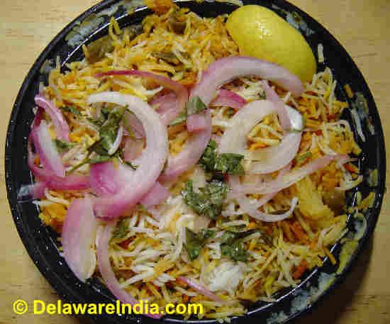 Where to Eat Dum Biryani in Delaware