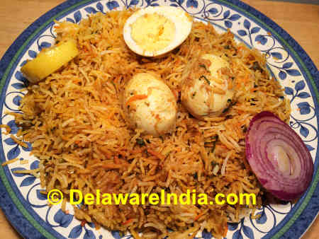 Hyderabad Biryani © DelawareIndia.com