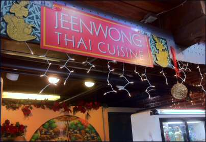 Jeenwong Thai Restaurant Wilmington