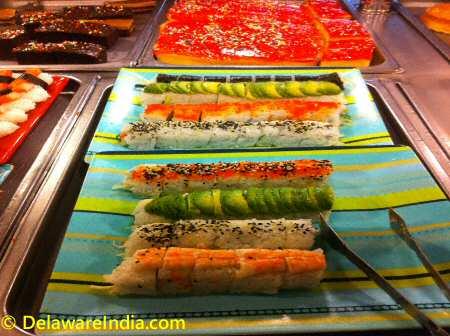 King Buffet Sushi Counter © DelawareIndia.com