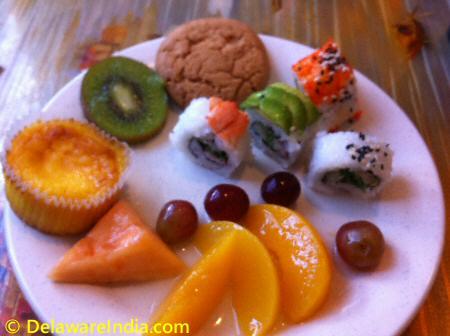King Buffet Sushi & Fruits © DelawareIndia.com