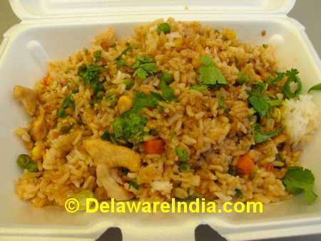 Koi On the Go Wilmington Thai Fried Rice © DelawareIndia.com