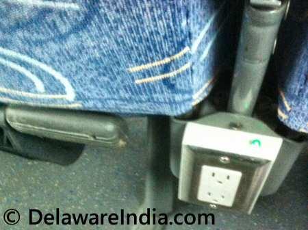 megabus power outlet © DelawareIndia.com