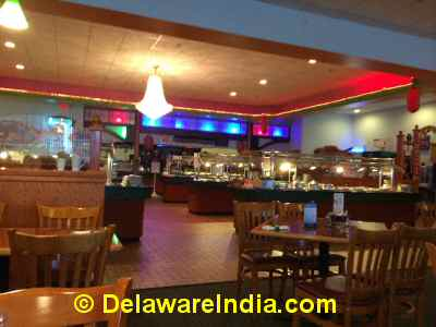 Old Town Buffet Ambiance © DelawareIndia.com