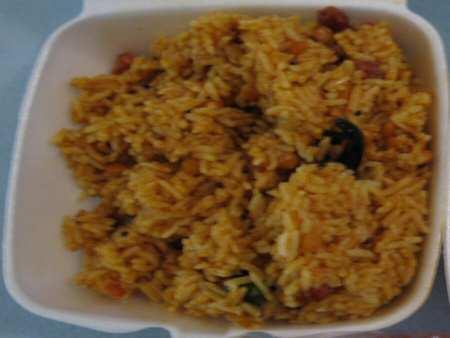 de hindu temple canteen tamarind rice