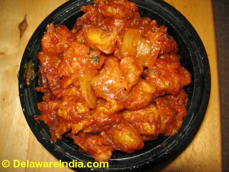Everest Foods Chicken Manchurian © DelawareIndia.com