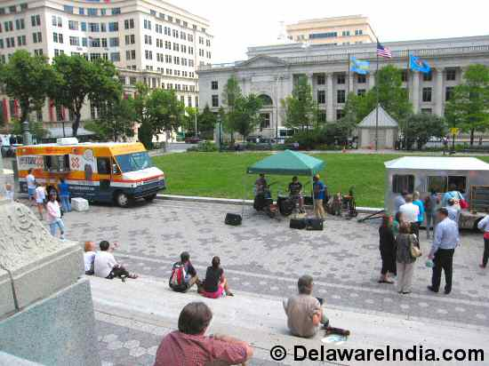Food Trucks at Rodney Square Wilmington
