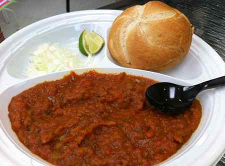 pav bhaji at Scrumptious Wilmington