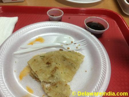 Sino Garden Scallion Pancakes © DelawareIndia.com