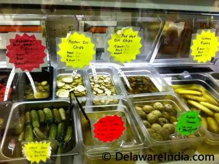 Spence's Bazaar Deli Pickles © DelawareIndia.com
