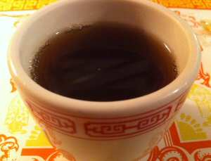 Szechuan Restaurant Hot Black Tea
