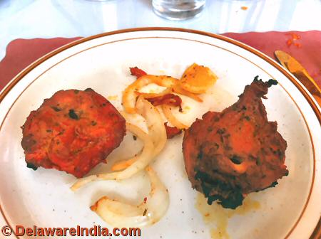 Tandoori Chicken at an Indian Lunch Buffet in Delaware © DelawareIndia.com