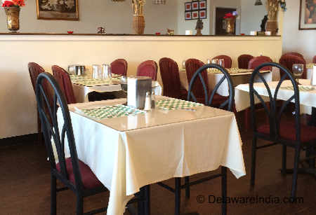 Tandoori Restaurant Newark Dining Hall image © DelawareIndia.com