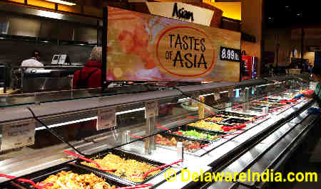 Wegmans Tastes of Asia Counter