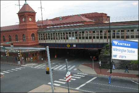 Image &copy DelawareIndia.com Wilmington Amtrak Station