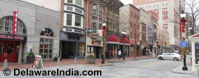 Market Street in Wilmington DE